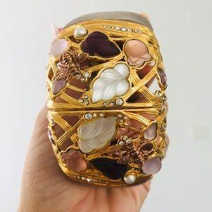 Alexis Bittar hinged bracelet cuff